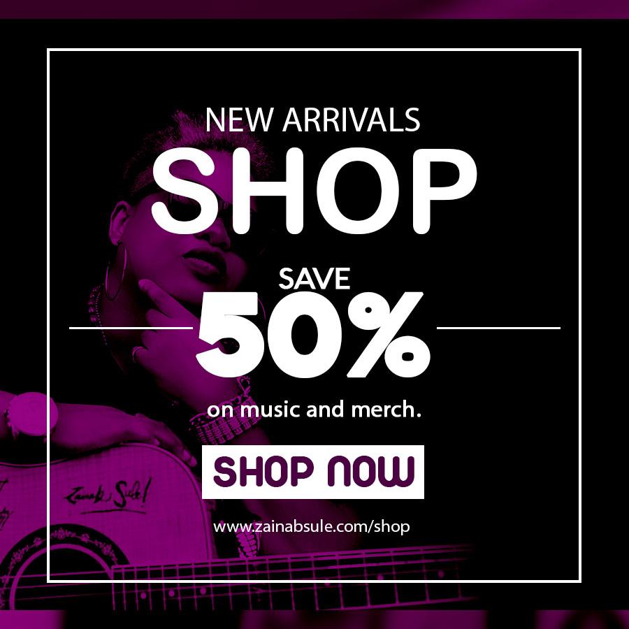 Zainab Sule Music - Shop Now